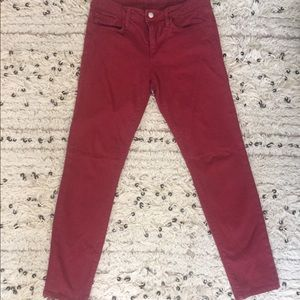 Joe's Skinny Jeans - Burgundy